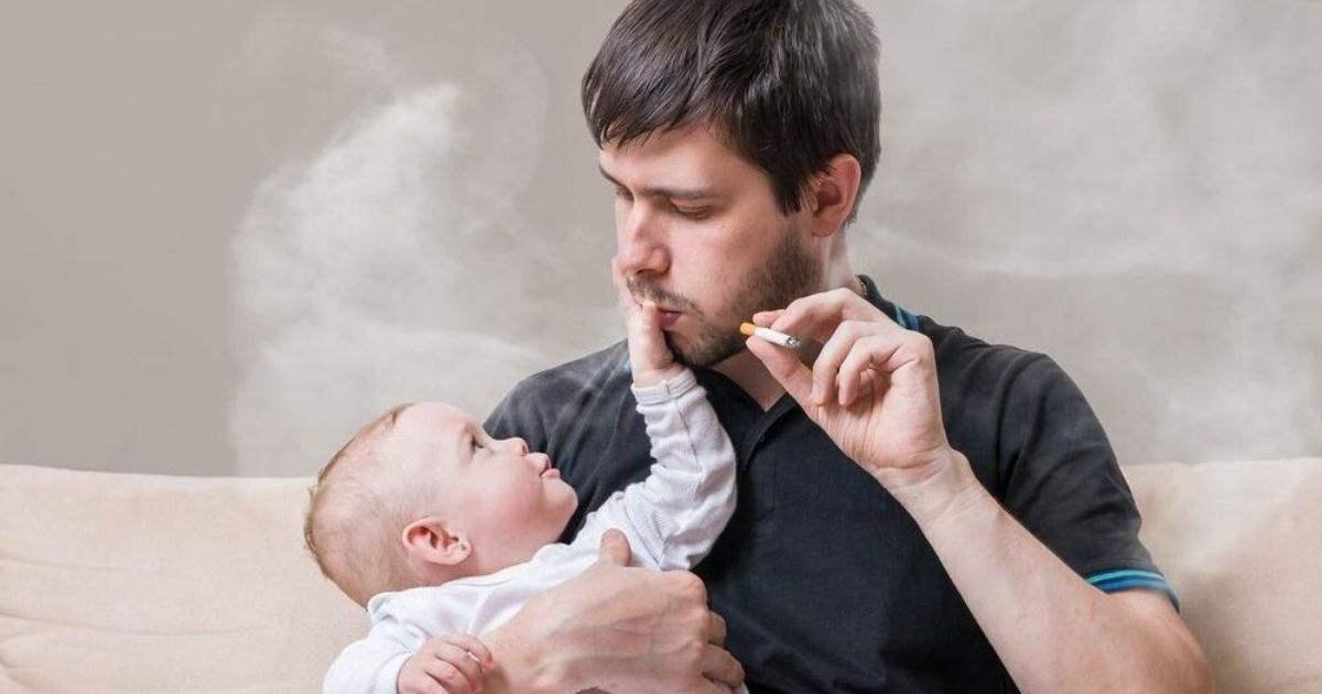 bahaya asap rokok pada bayi