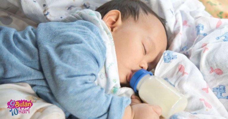 cara elak bayi tersedak susu