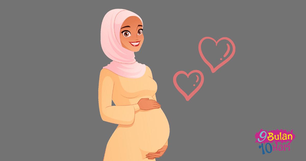ibu hami yang comel