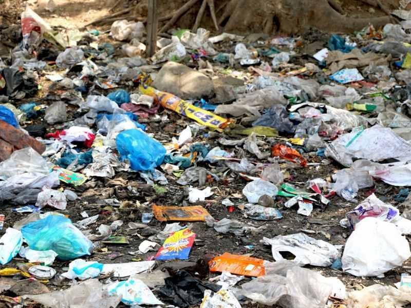 sampah dan kotoran