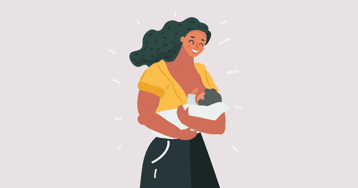 ibu susukan baby