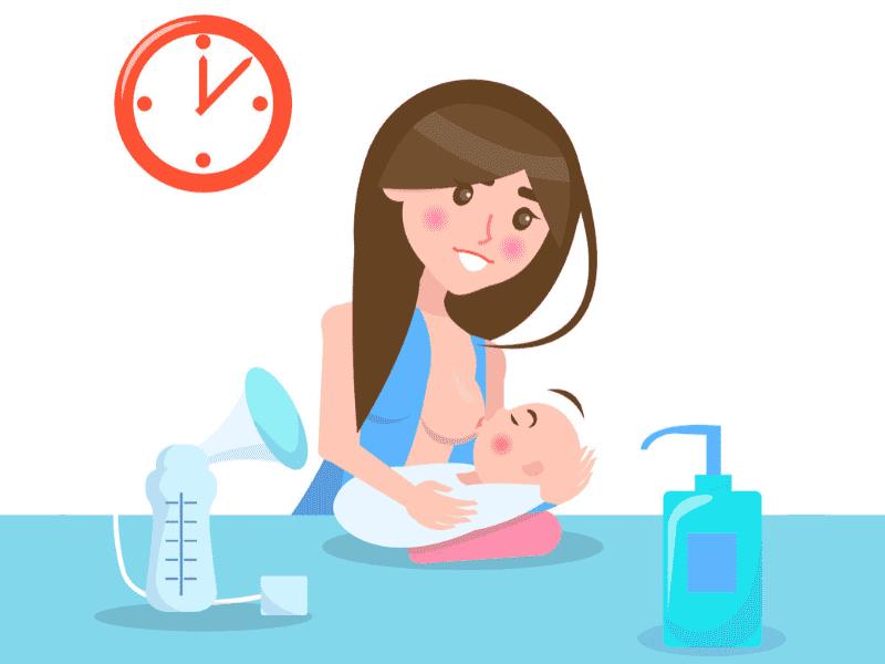 pam sus ibu yang bengkak susu