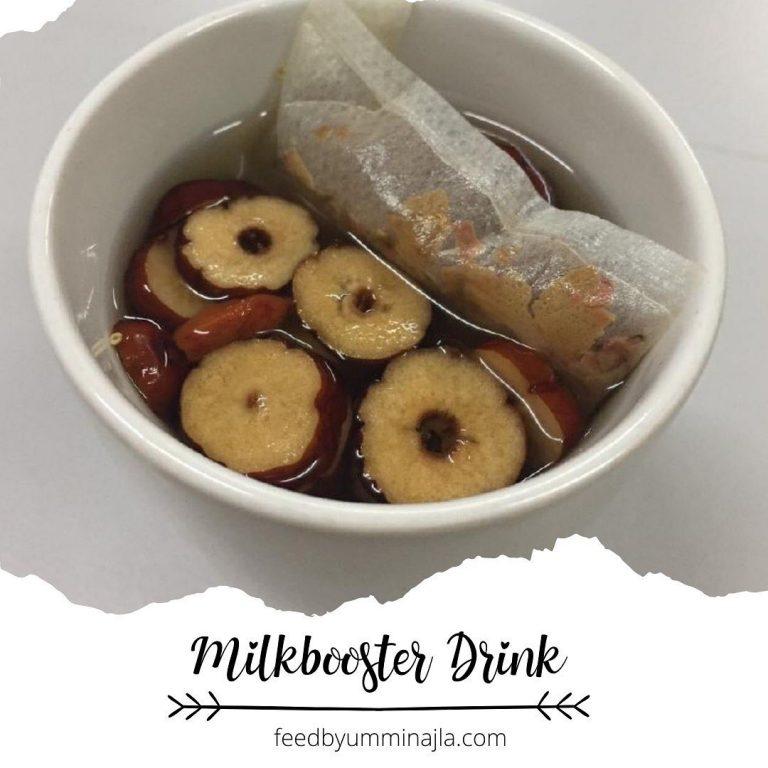 Resepi Minuman Penggalak Susu Badan!