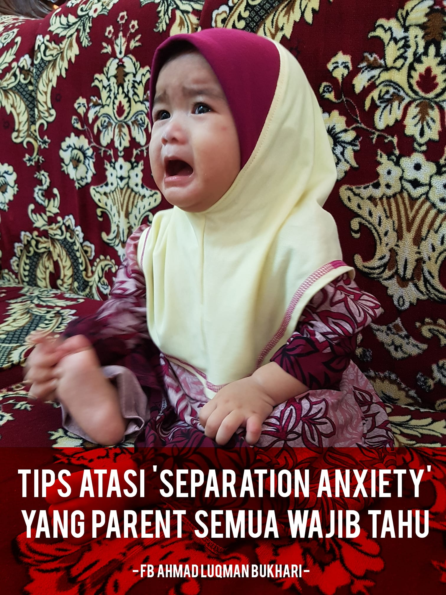 TIPS ATASI SEPARATION ANXIETY PADA ANAK!