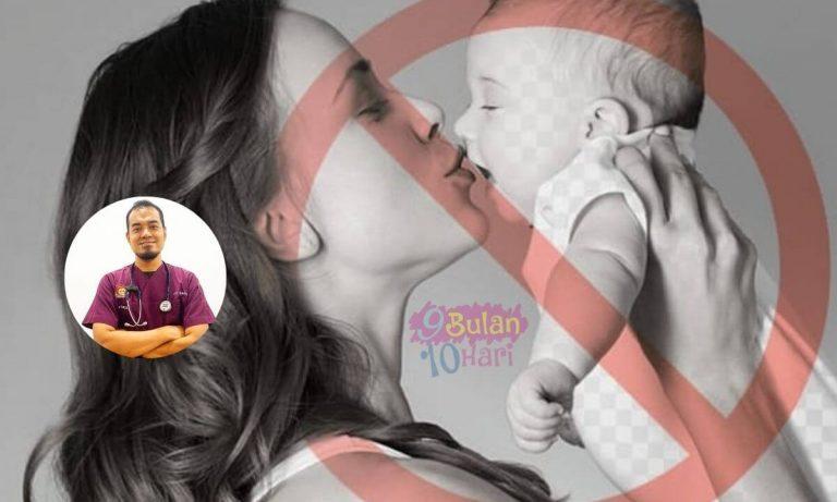 Cium Mulut Bayi